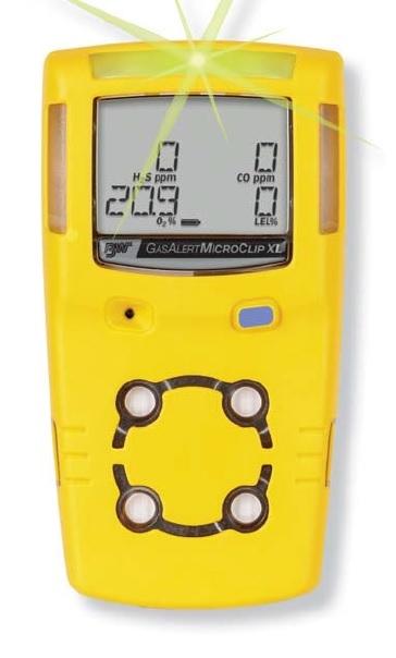 Gasalertmicroclip Xl Multi Gas Detector H2s Co O2